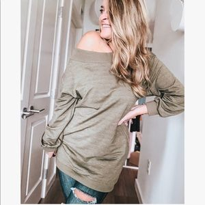 Tops - Katelyn Off The Shoulder Pullover